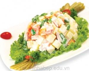 salad tron rau cu