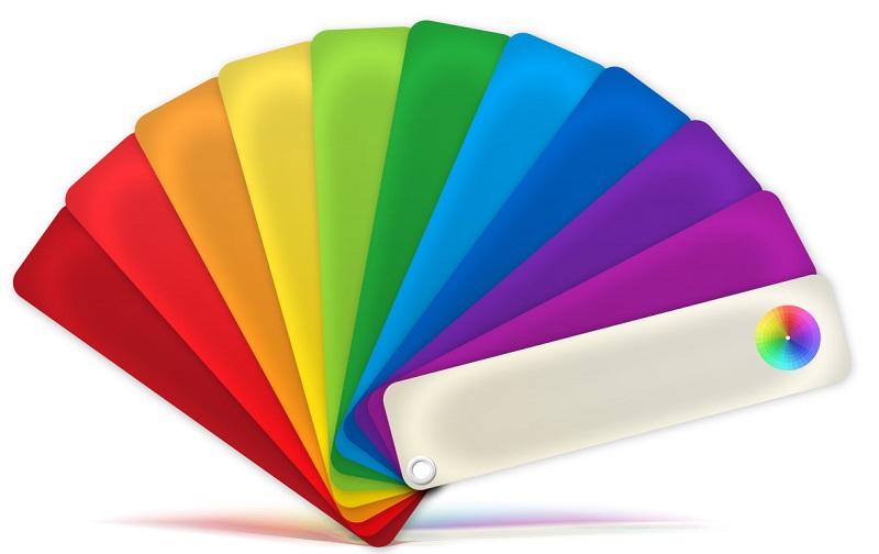 Bảng màu thiết kế nội thất
