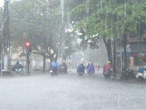 món ngon ngày mưa lớn