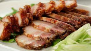 thịt chiên món ăn mùa đông