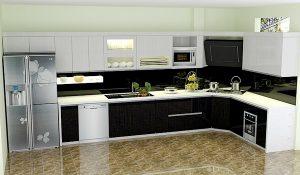 vấn đề trên bếp từ đối với không gian nhà