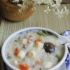 Cách làm món cháo thập cẩm chay cho người ăn kiêng