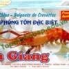 Đặc sản bánh phồng tôm San Giang – Đồng Tháp