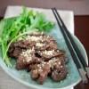 Cách làm món thịt bò nướng thơm