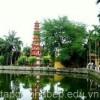 Đầu năm đến thăm ngôi chùa Trấn Quốc nổi tiếng Hà Nội