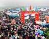 Hội chợ Viềng cầu may đầu xuân – Nam Định
