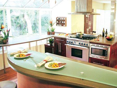 Thiết bị nhà bếp cảm ứng rất tiện lợi và an toàn!