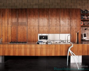 modern-kitchen-with-American-black-walnut-cabinets